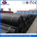 ISO Certificate Fish Farm Pond Liner Black Geomembrane Of Hdpe