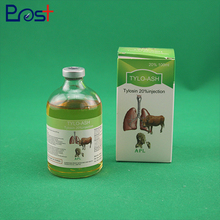China Medical Use Liquid Drug Tylosin Injection For Cattle