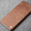 QIALINO Extreme Slim Top Grade Flip Leather Phone Case For Iphone 6 With Logo
