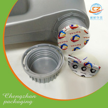 Aluminum foil induction sealing liner PET PE PP bottle cap seals / lids / wads for oil bottle