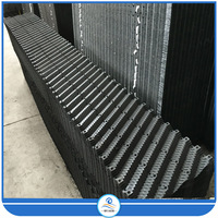 PVC Cooling Tower Water Mist Drift Eliminator,PVC cooling tower fill media