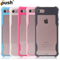 Clear Acrylic TPU Phone Case For iphone 7, transparent Phone Case For iphone 7 matte tpu frame mobile case