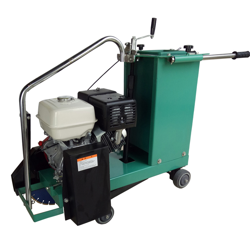 Gasoline engine concrete saw cutting machine