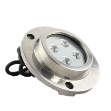 DC12V IP68 10W 316 Stainless Steel marine underwater led lights (SC-G107A)