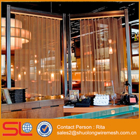 Hall Divider Decorative Metal Mesh Curtain