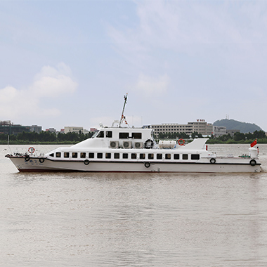 27m high speed passenger boat for water transportation (120 seats)