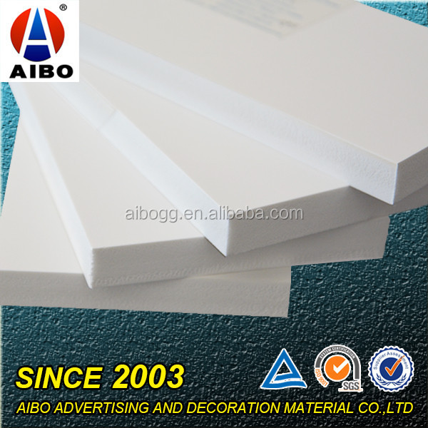 High Density White Pvc Celuka Foam Board For Waterproof Bathroom Cabinet