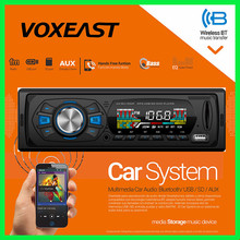 VOXEAST UN-RU1052F CAR AUDIO STEREO CD MP3 PLAYER RECEIVER WITH REMOTE CONTROL