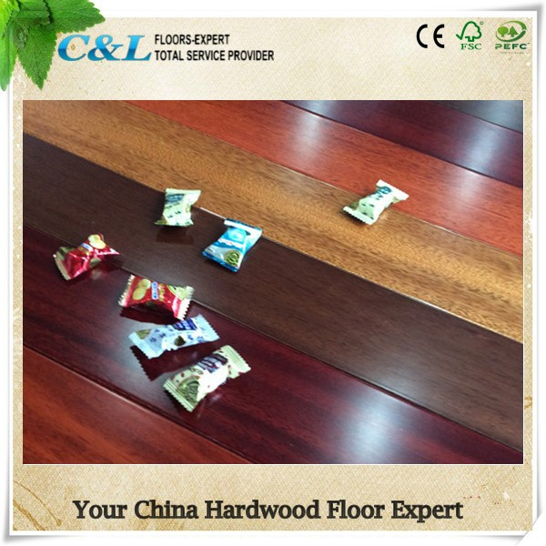 Foshan factory Dahoma multi colored wood flooring
