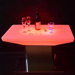 Cheap Home Stool high bar cocktail led table/high tables and bar stools
