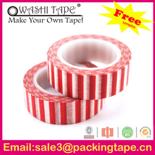 2014 hot sale Canadian printed adhesive tape made in China SGS