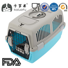 Plastic Airline Approved Dog Carrier With Doors