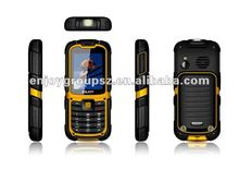 2g/3g outdoor dual sim ip67 waterproof cheapest 3g feature phone