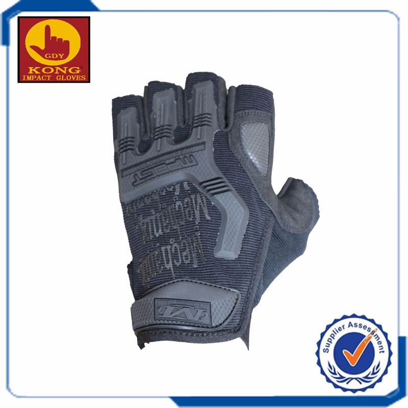 Finger less tactical cutting gloves with chinese factory