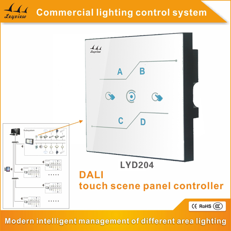 Manufacturer Supplier dali touch light dimmer with antifog lens
