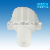 Pipe fitting of toilet filling valve transform thread and outer nipple for toilet repair kits