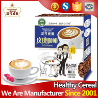 Fashion 19 sachets instant rose diet slimming coffee