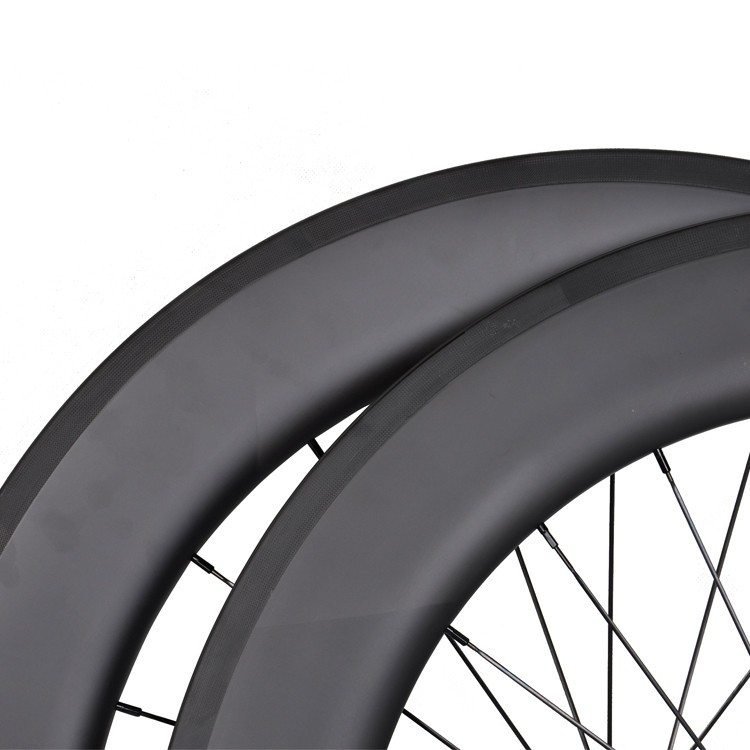 1 year warranty carbon road bike wheels 700C 86mm clincher road carbon wheels