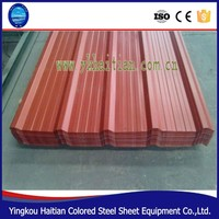 Build Materials Roofing Galvanized Colour Tile Metal Roof
