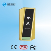 Electronic key card sauna door lock