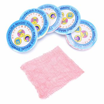 Hot Sale Mini Outdoor Travel Disposable Camping Portable Magic Disposable Compressed Bath Face Hand Towel Washcloth