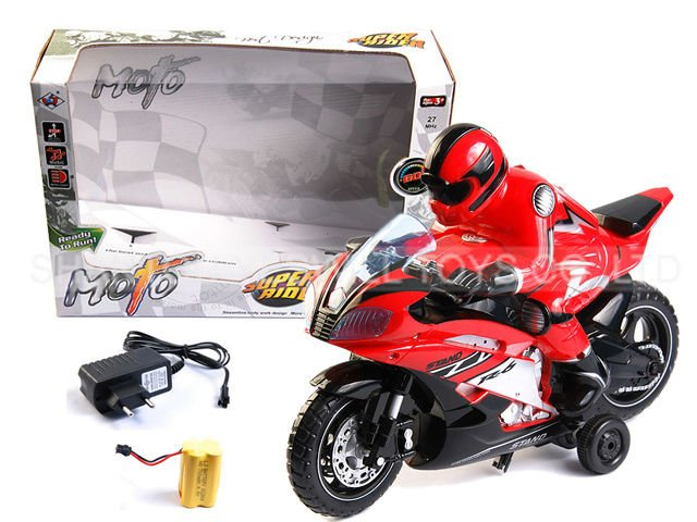 2ch RC motorcycle with charger