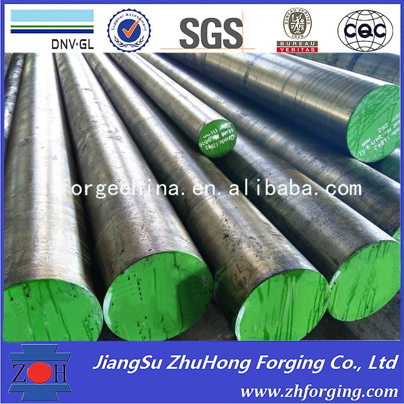forging carbon steel round bars with ASTM DIN JIS Standard
