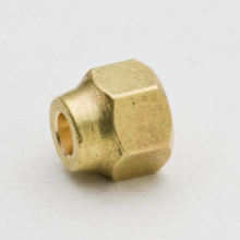 China professional supplier high quality brass air conditioner flare nut and union