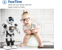 Boss Kid early educational toy robot ,high-tech robot toy ,high quality best family member robot