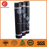 3mm SBS self-adhesive waterproof membrane asphalt roll siding for roof/wall