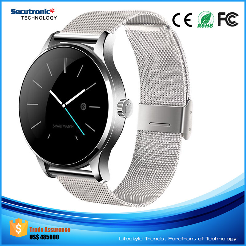 Import and Export Android Dm365 Smart Watch with Heart Rate for Apple iOS or Galaxy Gear or Windows