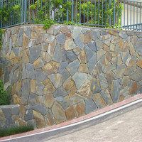 cheap natural slate paving outdoor rusty slate tiles for wall and floor