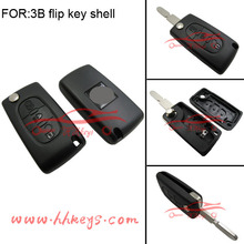 Original Key Cover Peugeot 307 Safety car 3 Buttons Remote flip key