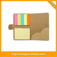Popular design sticky note memo pad and pen holder