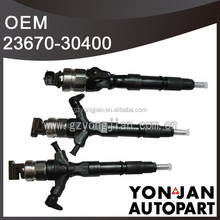 (genuine parts) FOR Toyota HILUX 2KD Diesel Injector nozzle 23670-30400
