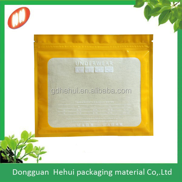 Manufacturer custom cheap plastic clother zipper bag
