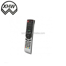 Infrared learning or universal OEM TV remote control with jumbo case and keys