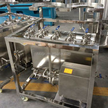 Stainless Steel Manual Two Station Beer Keg Washer with Barrel Three-phrase 220V 50 Hz