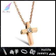 professional suppliers stainless steel wholesale inca cross pendant