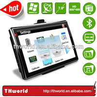 hot sale big screen 7 inch global positioning system model no. 719