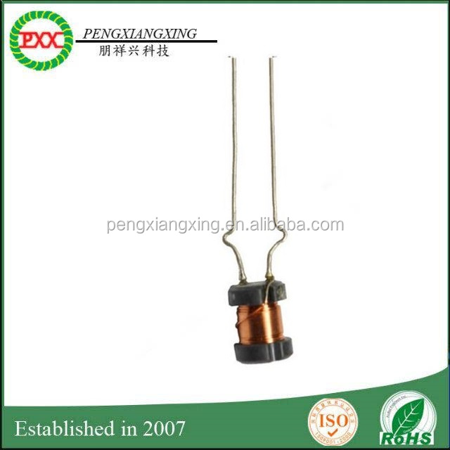 DR Ferrite Core Inductor, PXX ferrite winding copper wire drum inductor ,Dr radial fixed power Inductor