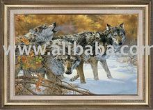 The Great Chinggis Khaan's Mongolian Wolves