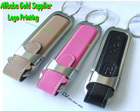 pink leather usb flash disk 128mb ,black leather usb flash drive 256mb ,brown leather usb stick 512mb