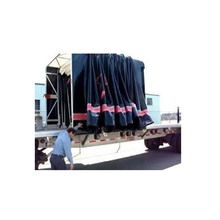 Waterproof trailer Covers sliding retractable tarp system