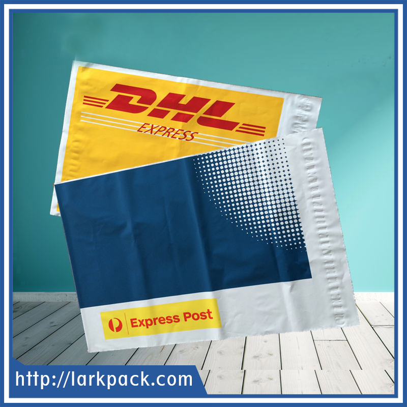 Cheap strong adhesive DHL tamper proof courier envelope bag express shipping bag mail bag