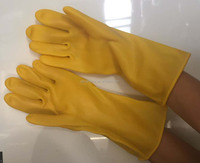 PU coated oil proof oil resistance industry safety working gloves wear delicated and comfortable