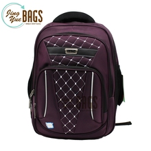 Usb Charging Rucksack Fashion Laptop Backpack Leisure Multi-function Bag for Men Women (purple)