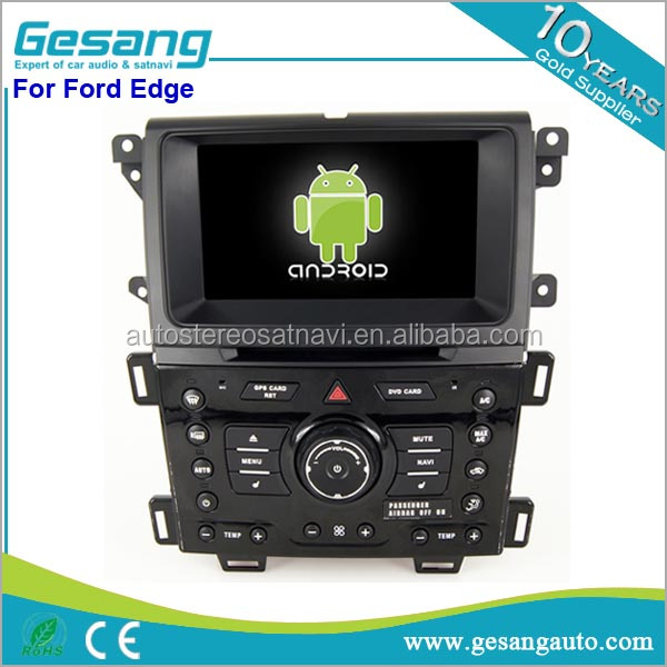 Touch screen 2 din car stereo android car radio for Ford Edge