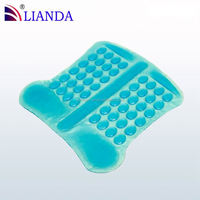 fabric gel bunion pads, factory in shanghai china gel pads for memory foam mattress, fever cooling gel pad