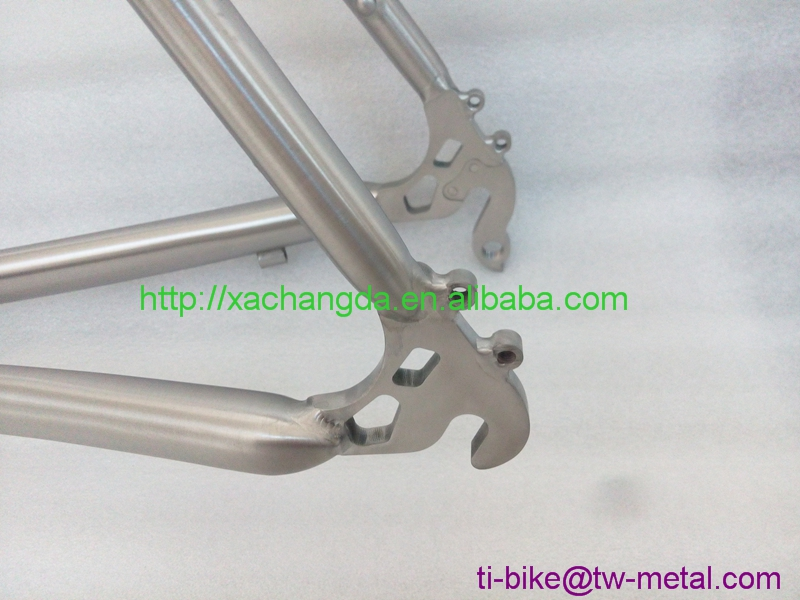 Super Light titanium Road bicycle frame with Couples Ti 48-52 cm road bike frame XACD Titanium best road bike frame 700C